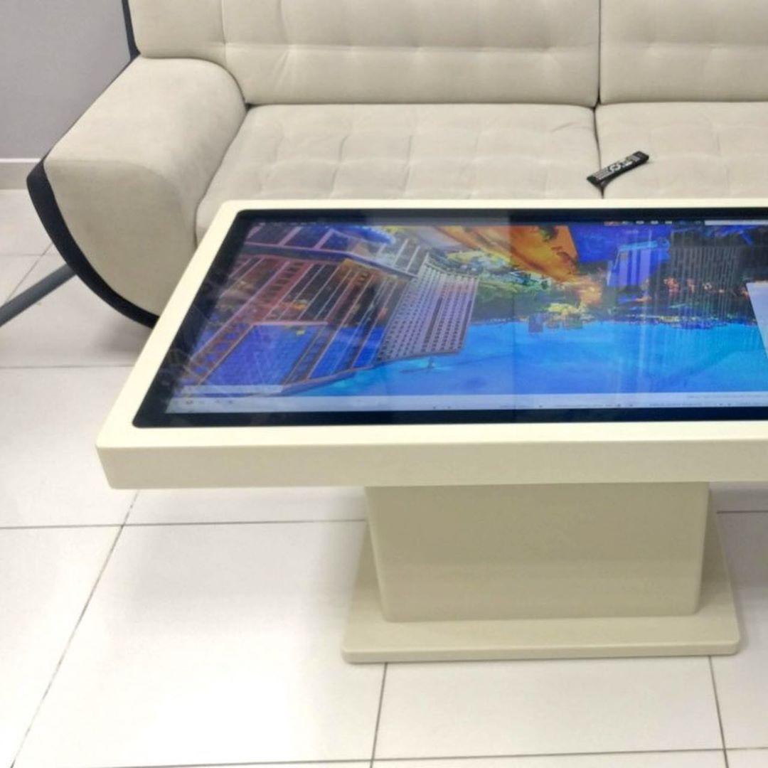 Интерактивный сенсорный стол из акрилового камня